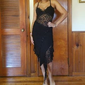 Dresses & Skirts - Sexy black lace dress